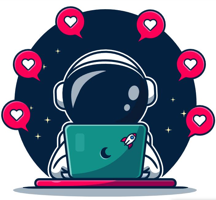 innotag Astronaut Likes